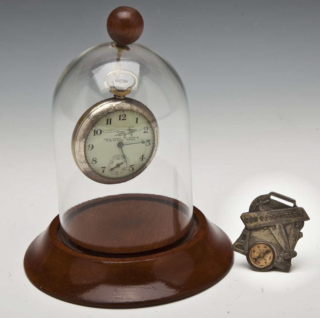 Charles Lindbergh Pocket Watch & Fob