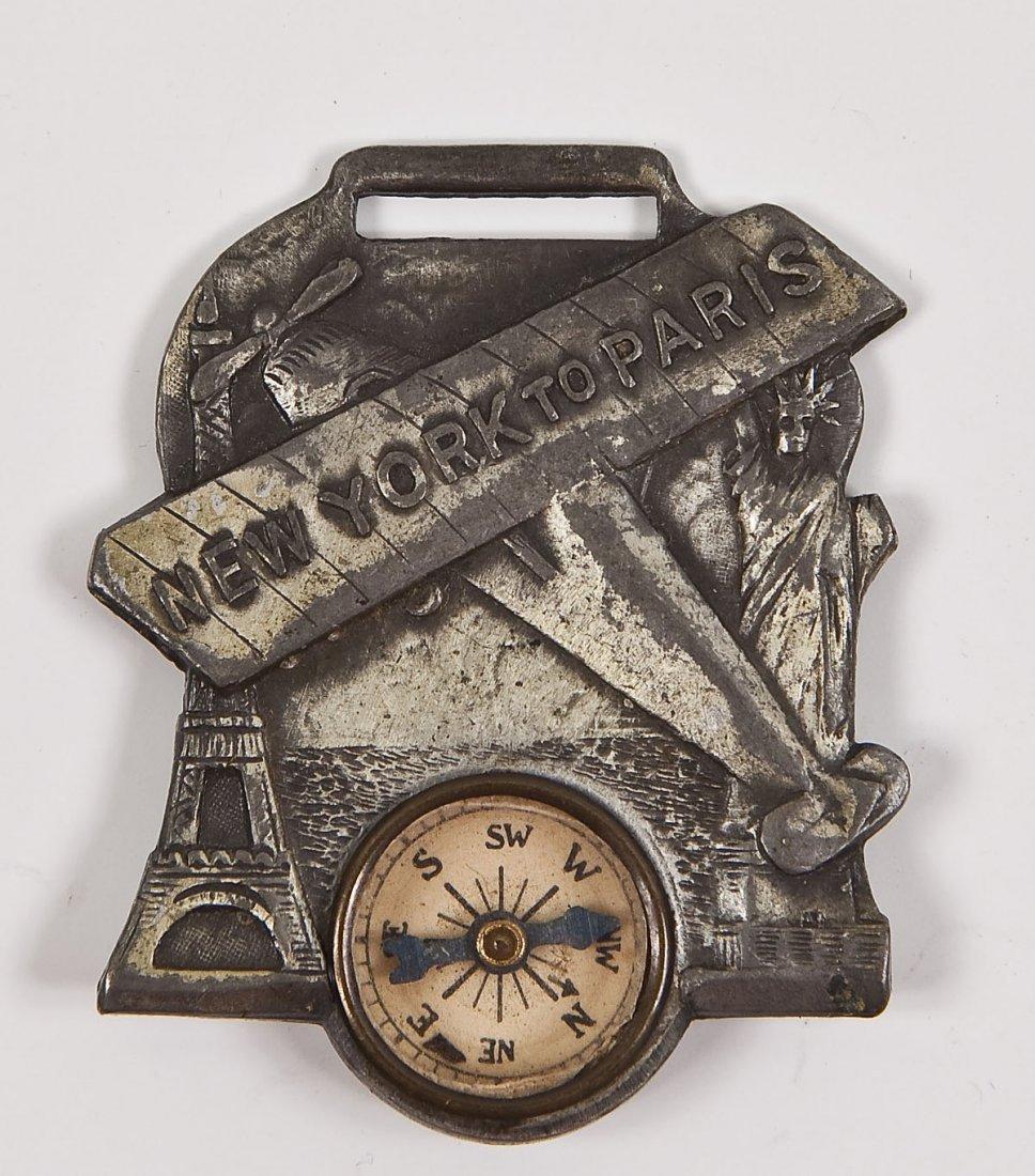 Charles Lindbergh Pocket Watch & Fob - 2