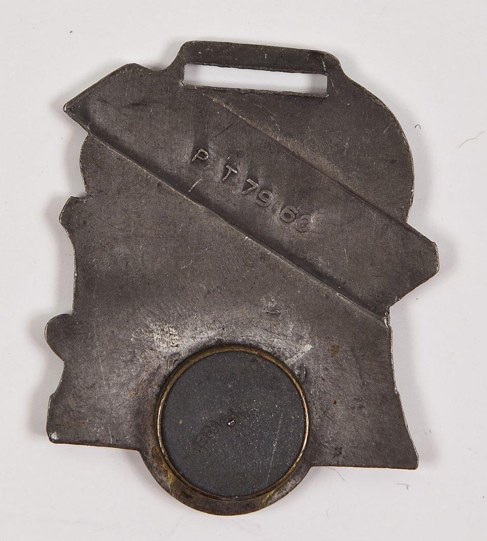 Charles Lindbergh Pocket Watch & Fob - 3