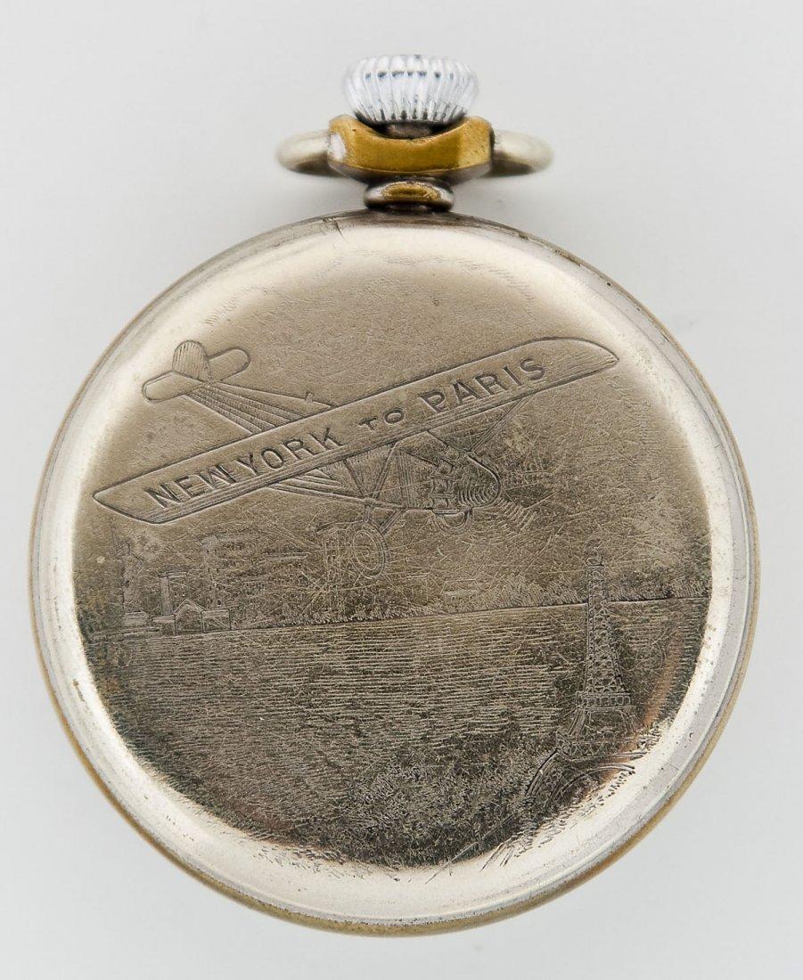 Charles Lindbergh Pocket Watch & Fob - 5