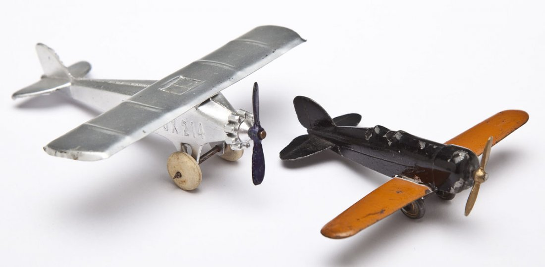 2 Charles Lindbergh Tootsietoys incl Tingmissartoq
