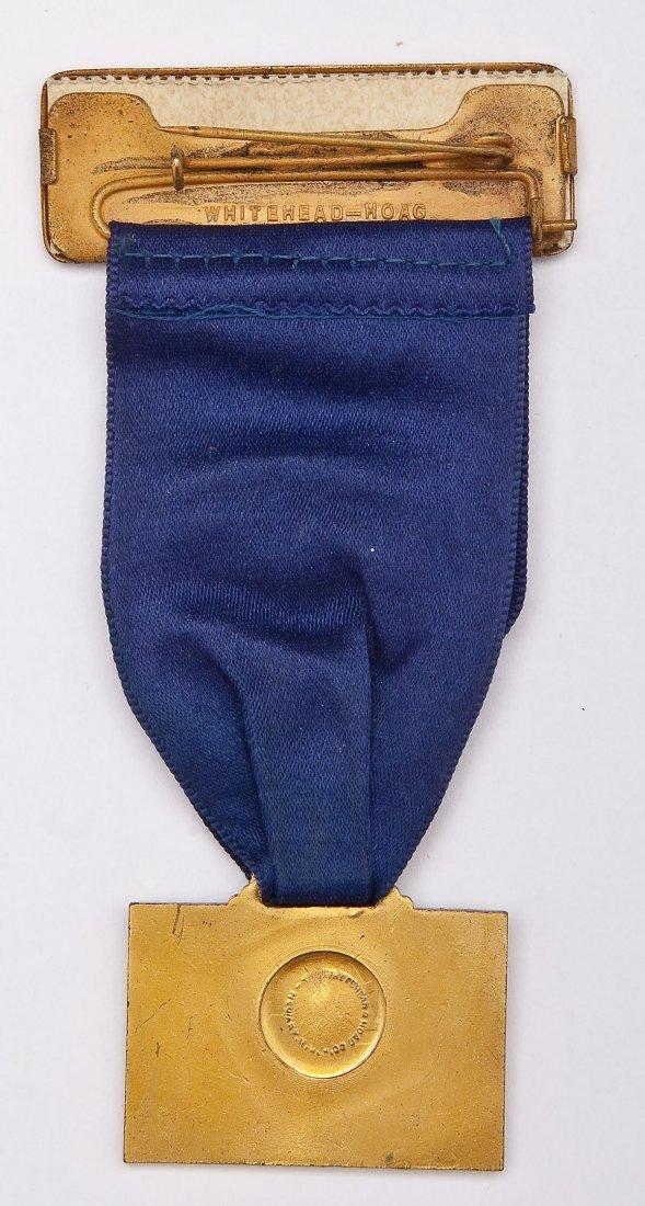 Charles Lindbergh Commemorative Reception Ribbon - 4
