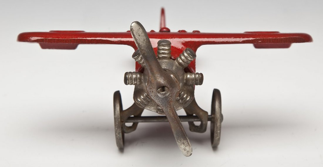 Hubley UX-166 Cast Iron Airplane - 2