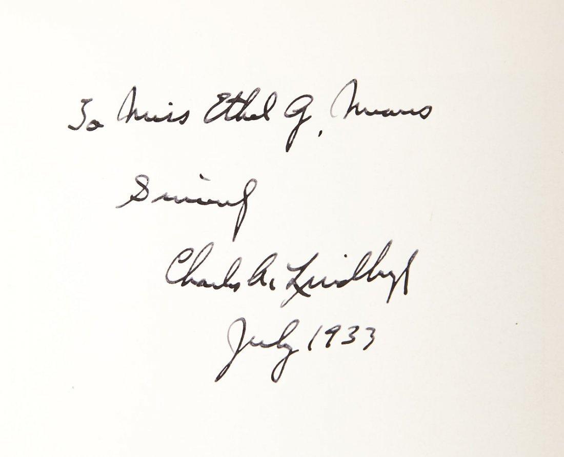 "Charles Lindbergh Signed ""WE"" Book"