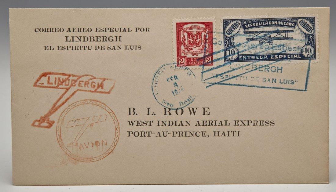 Charles Lindbergh 1928 South American Tour FDC