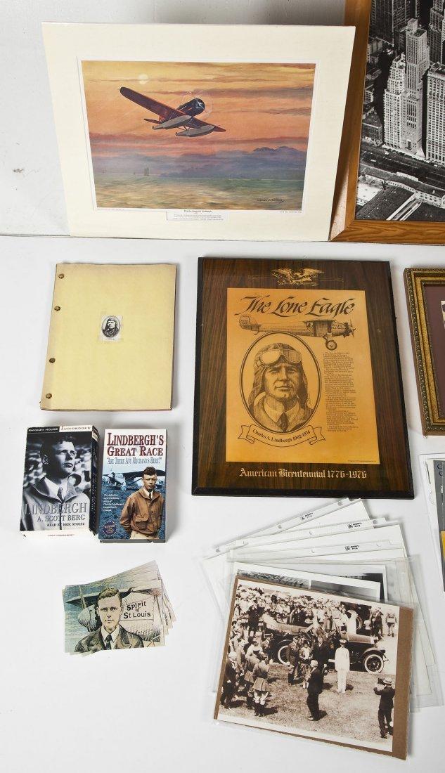 Large Lot of Charles Lindbergh Memorabilia - 3