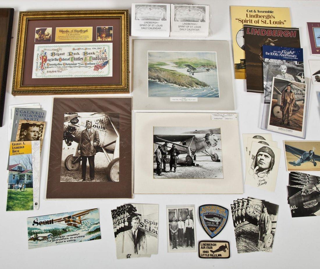 Large Lot of Charles Lindbergh Memorabilia - 5