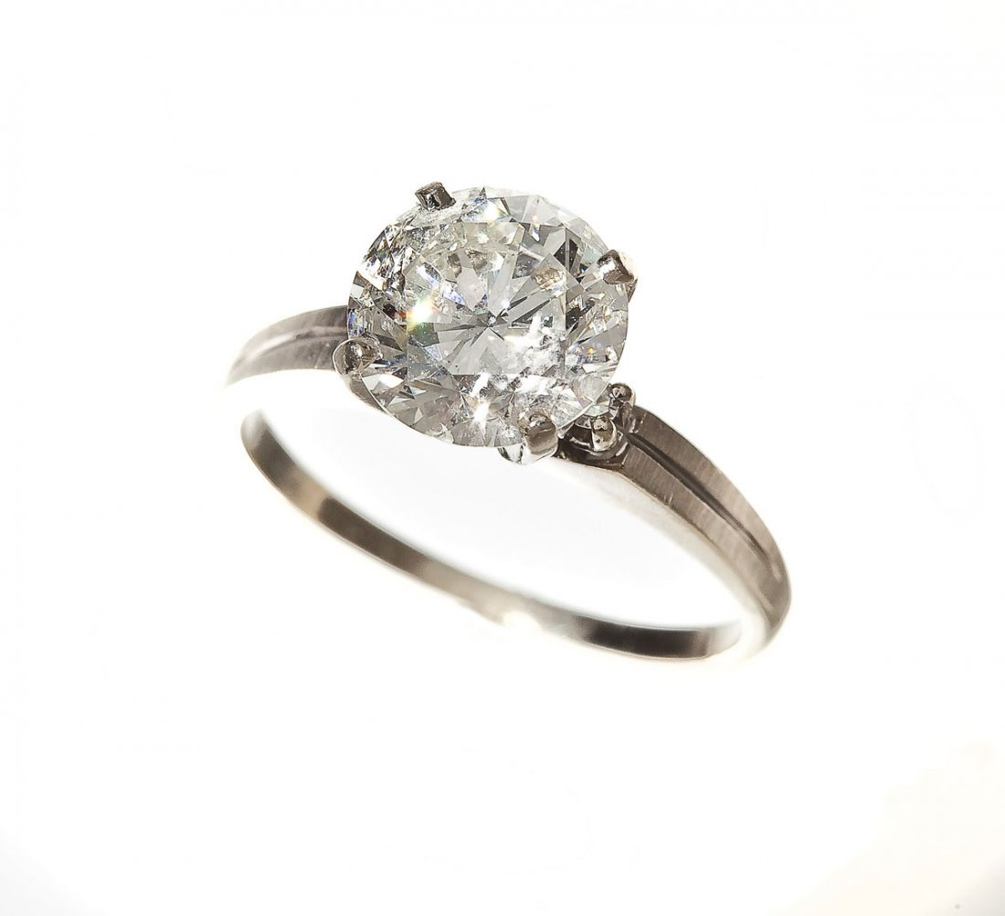 2.52 Carat Diamond Engagement Ring