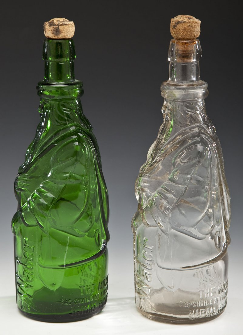 2 Poland Water Fac-Simile Moses Bottles - 2