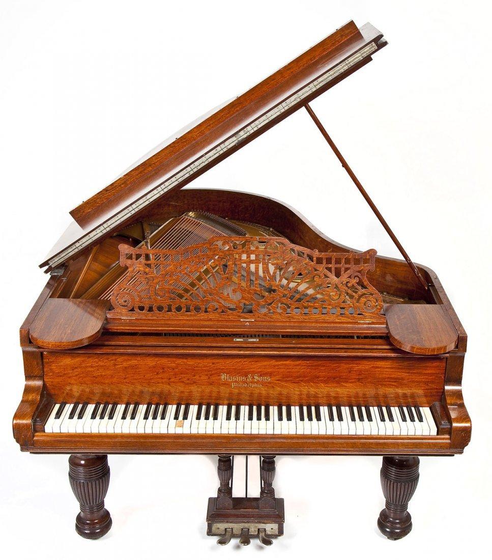 Blasius & Sons, Philadelphia Grand Piano