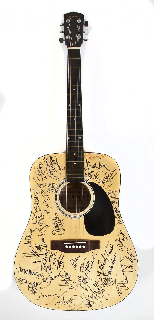 Signed Guitar 1999 Music Festival in Nashville