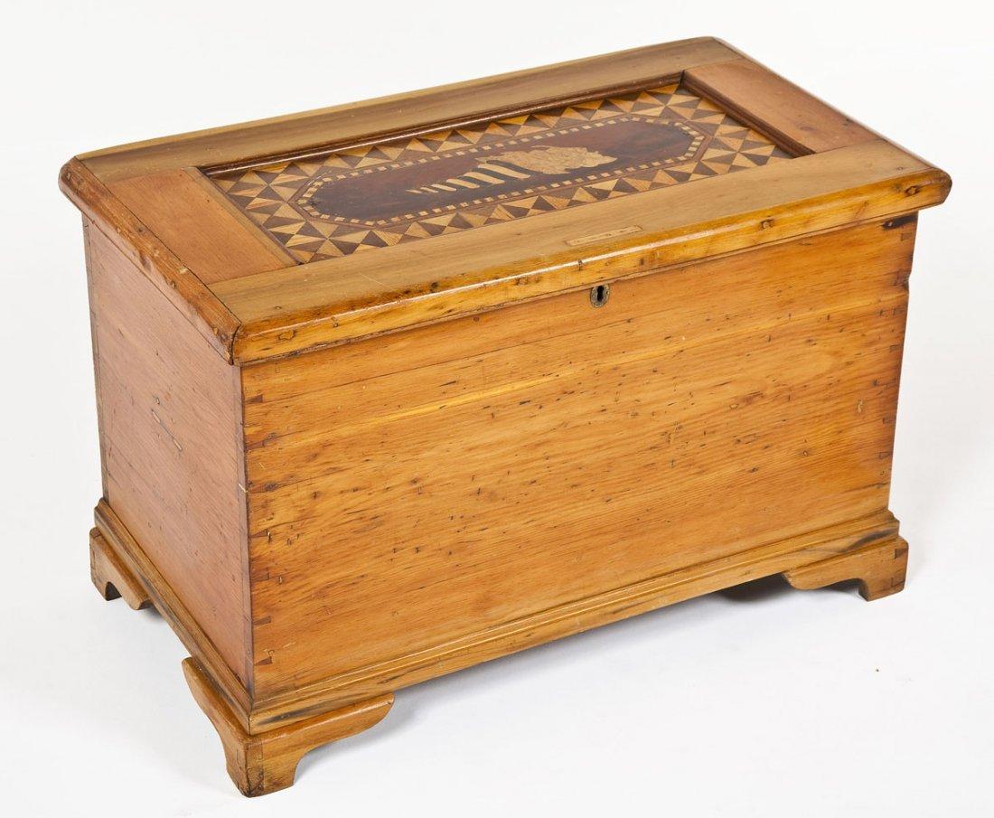 Pennsylvania Inlaid Carpenter's Chest