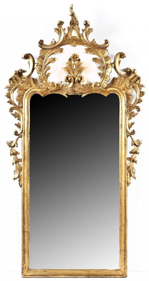French Style Gilt Mirror