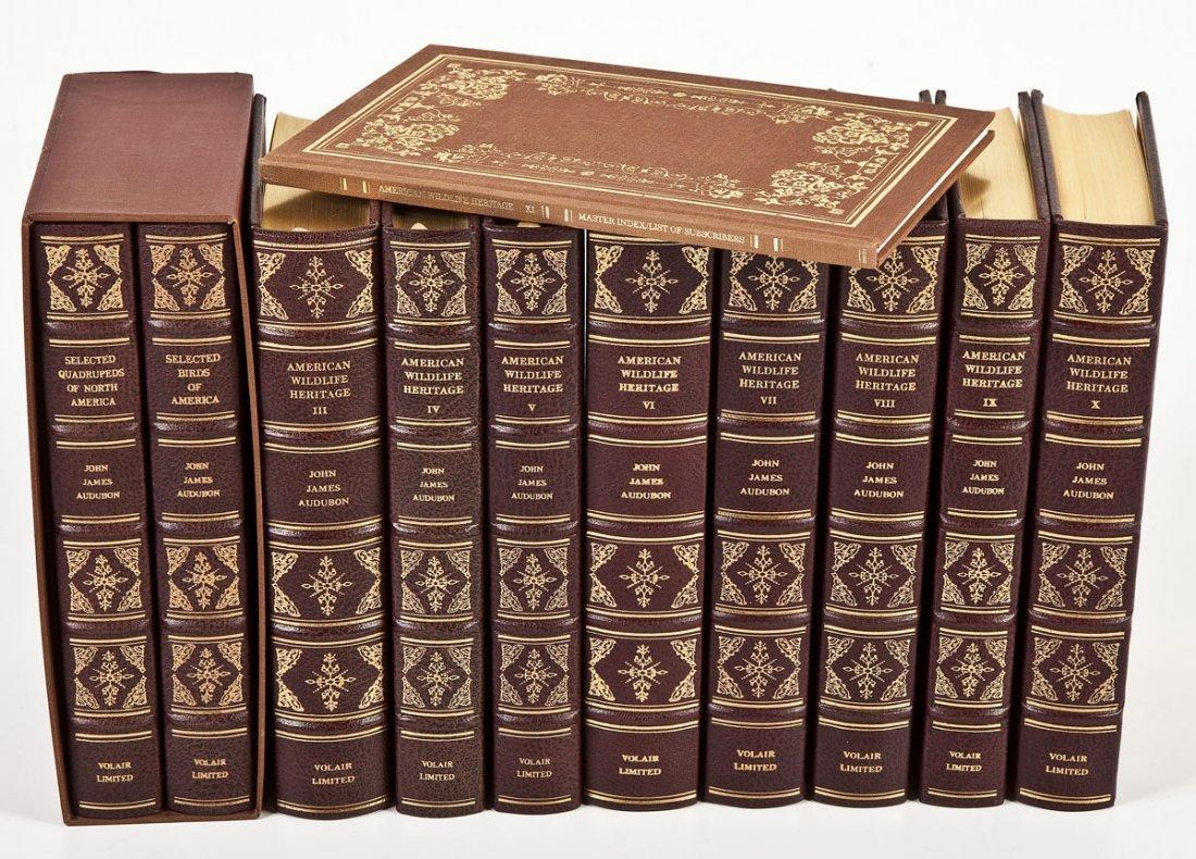 11 Vol Audubon's American Wildlife Heritage
