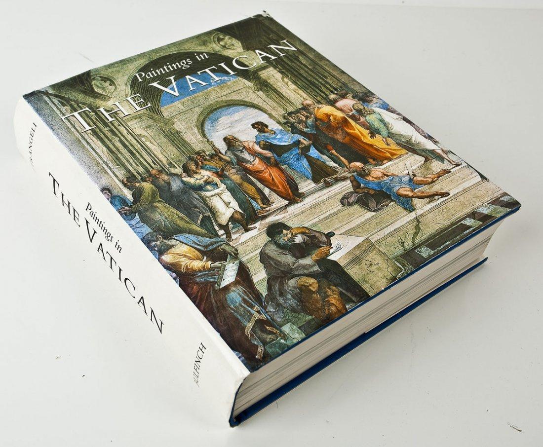 Paintings in the Vatican by Carlo Pietrangeli