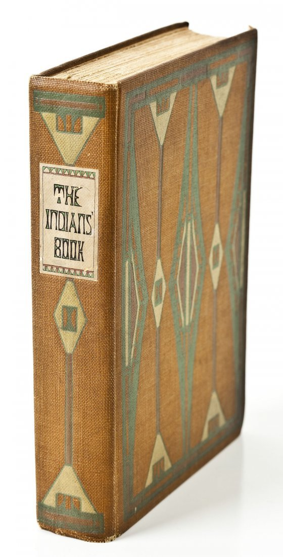 1907 The Indians' Book by Natalie Curtis 1st Ed