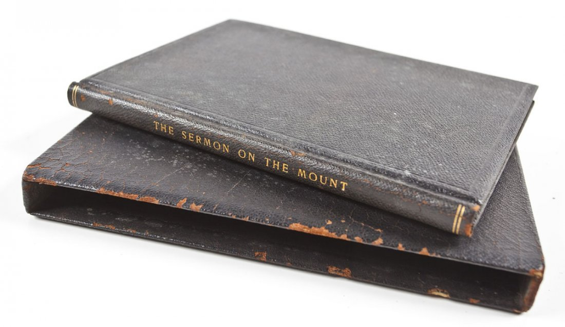 Sermon on the Mount Hand Calligraphed Book
