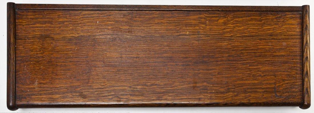 Macey 4 Stack Oak Barrister Bookcase - 10