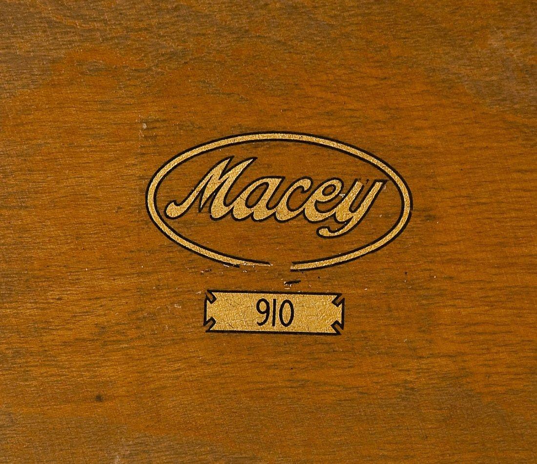 Macey 4 Stack Oak Barrister Bookcase - 5