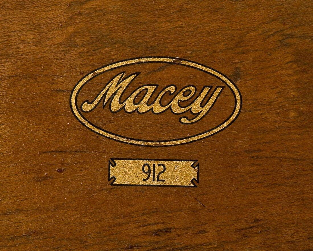 Macey 4 Stack Oak Barrister Bookcase - 6