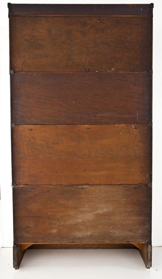 Macey 4 Stack Oak Barrister Bookcase - 9