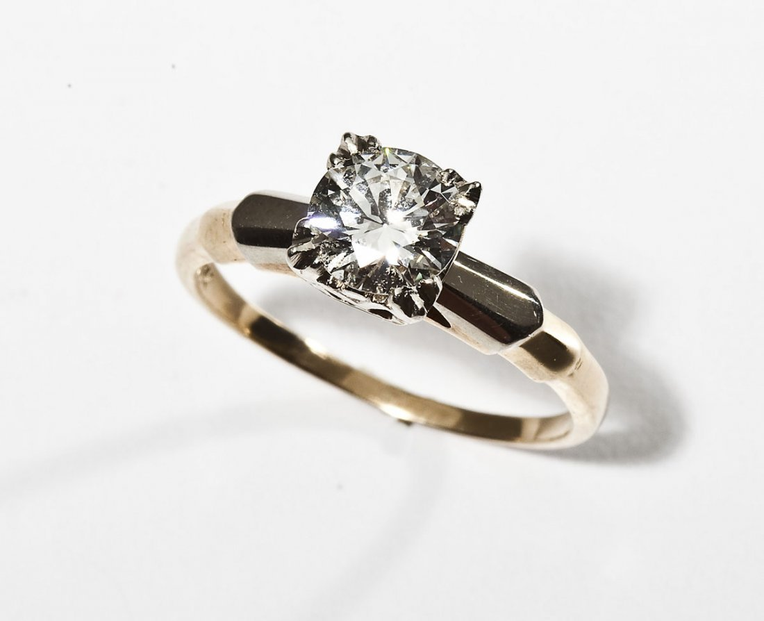 1.03 Carat Diamond Solitaire Ring