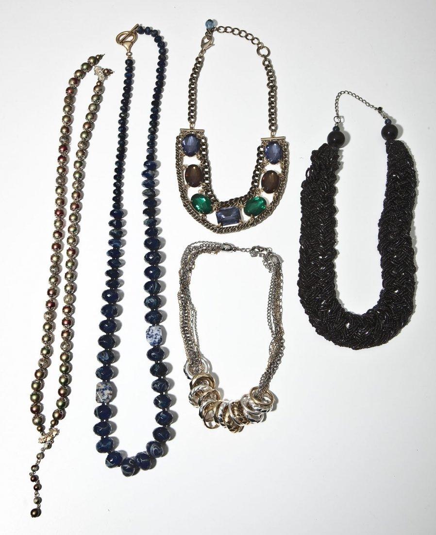 5 Fashion & Bead Necklaces