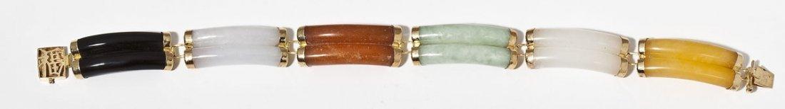 14K & Jade Bracelet