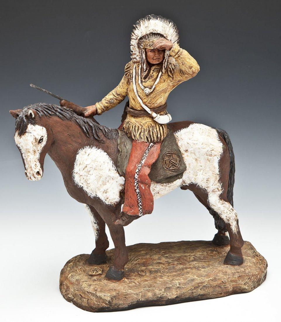 Daniel Montfort Indian Sculpture