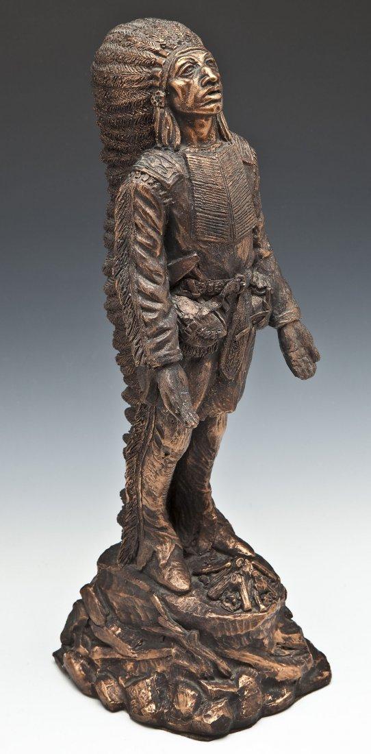 Esco Indian Chief Sculpture
