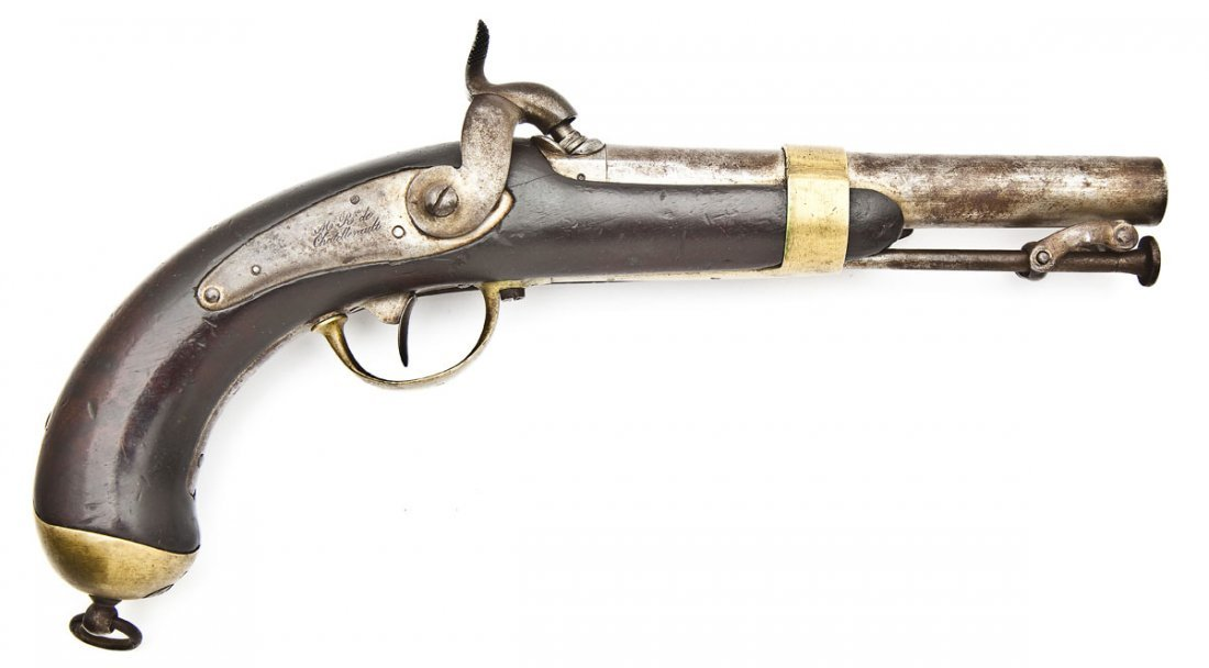 1837 Chatellerault French Navy Pistol