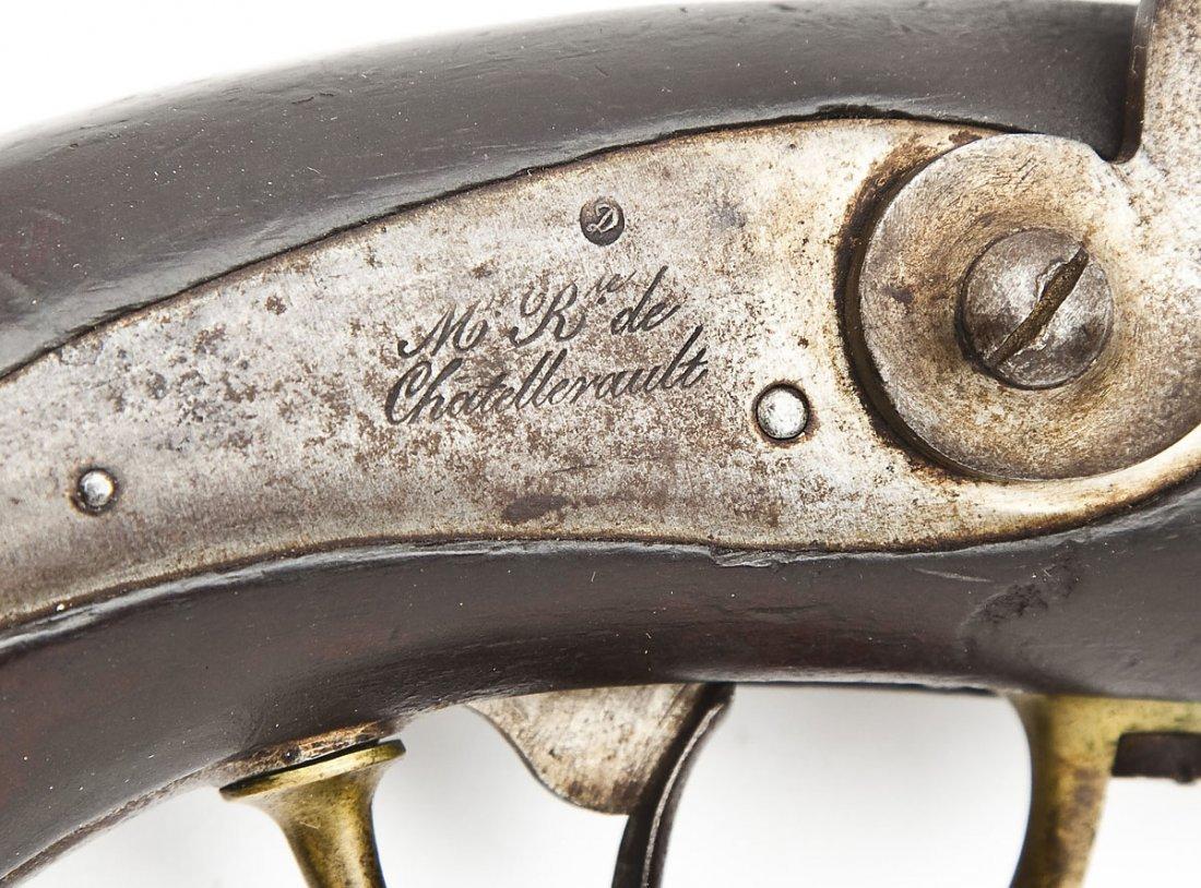 1837 Chatellerault French Navy Pistol - 3