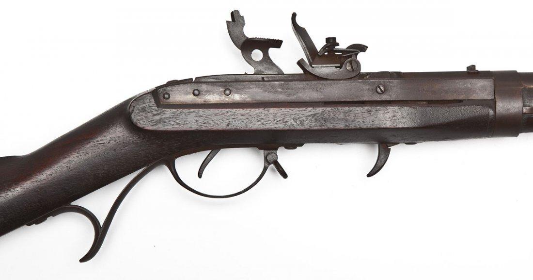 Model 1819 Hall US Breech-Loading Flintlock Rifle