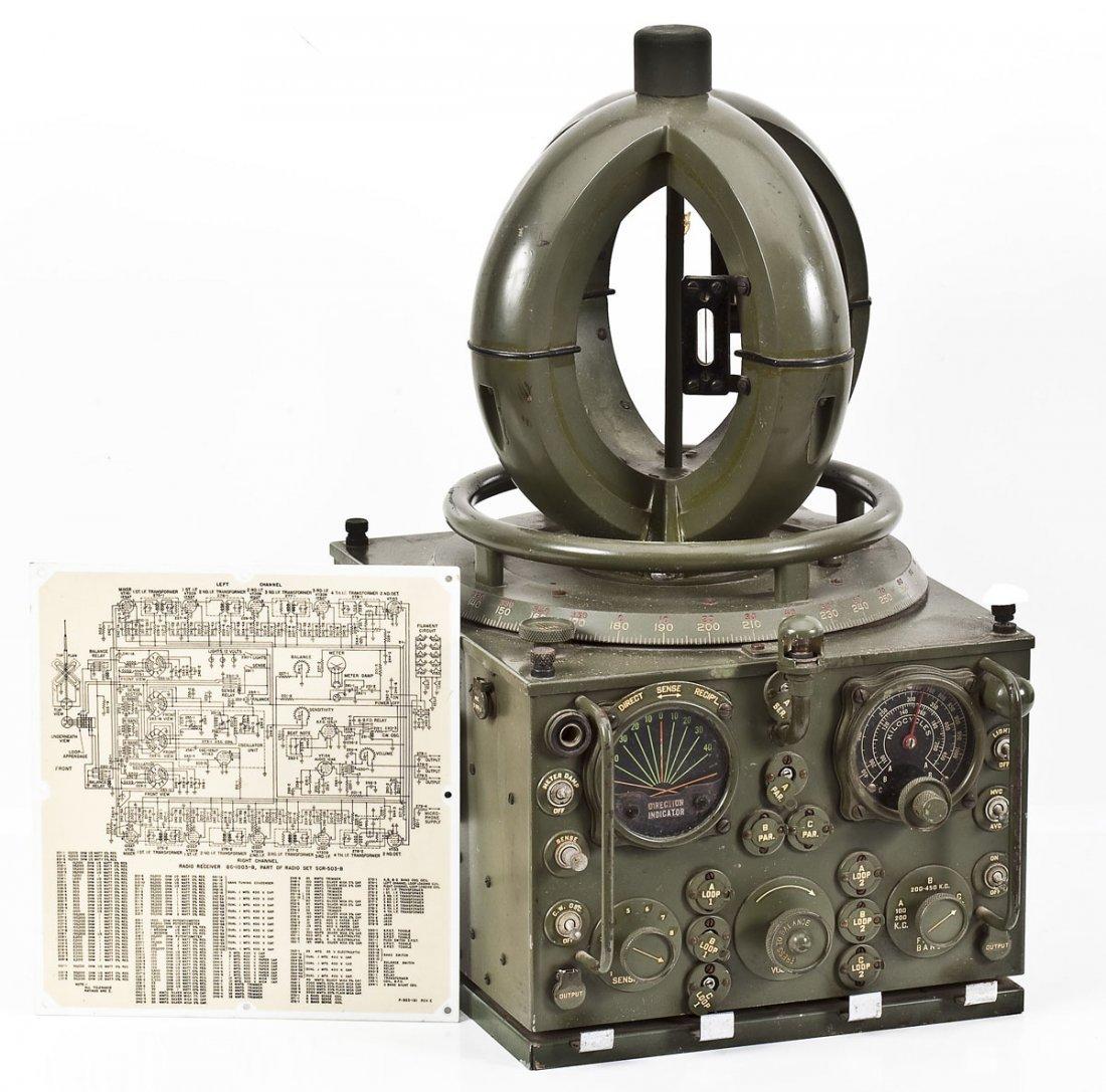 U.S. Army Signal Corps Radio Set SCR-503-B - 2