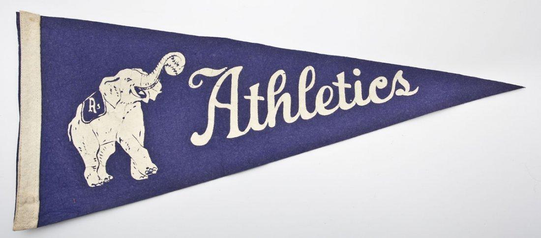 Vintage Philadelphia Athletics Pennant