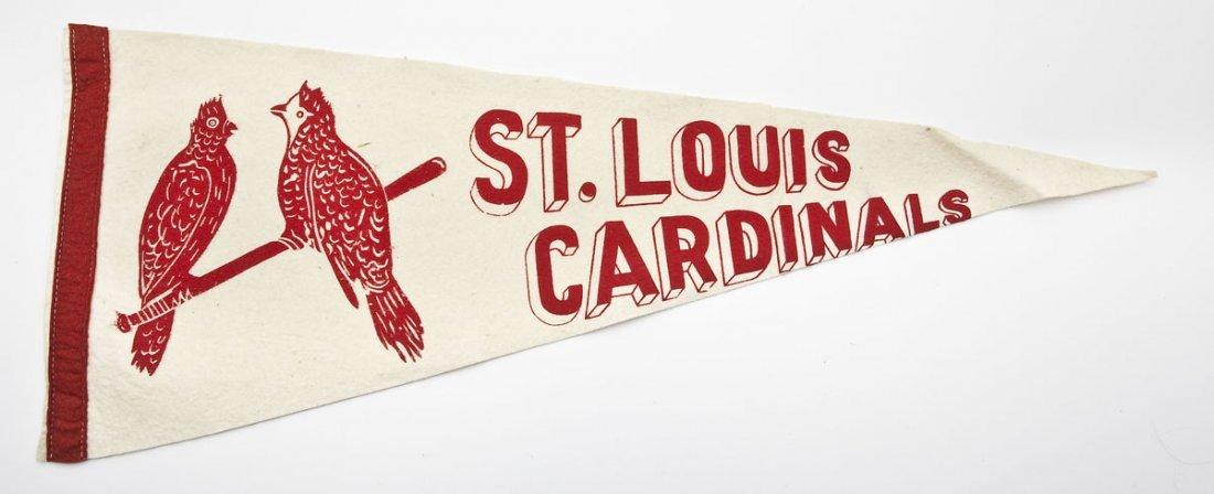 Vintage St. Louis Cardinals Pennant