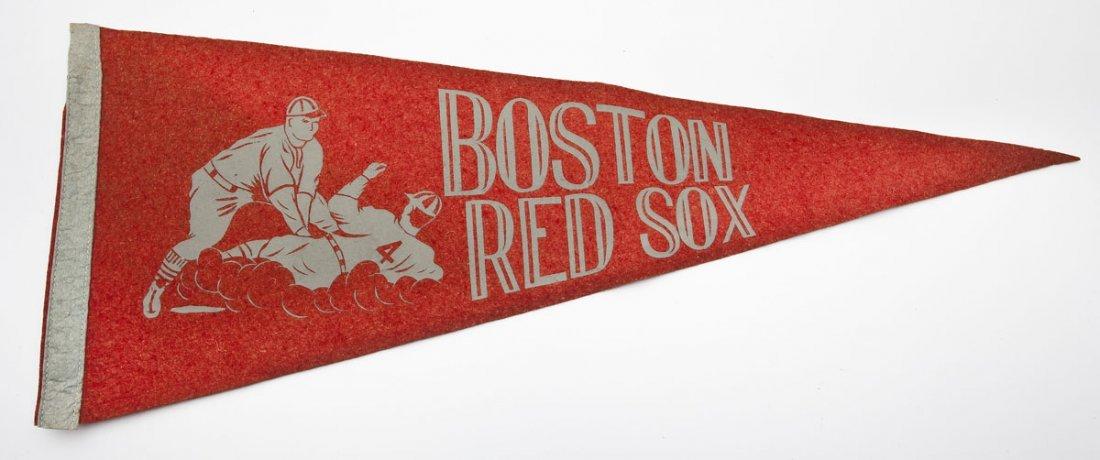Vintage Boston Red Sox Pennant