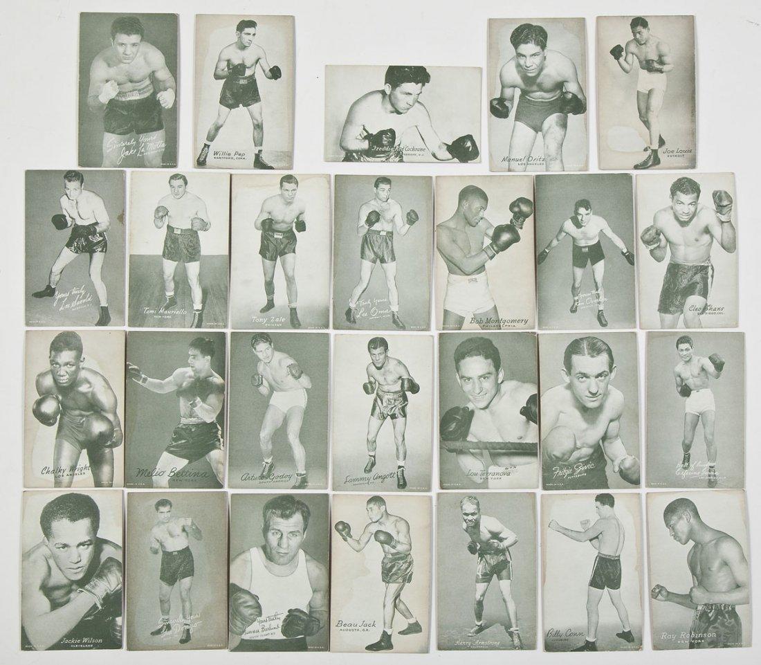26 Vintage Arcade Boxing Cards