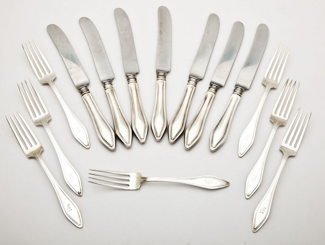 14 Pc Towle Mary Chilton Sterling Flatware Set