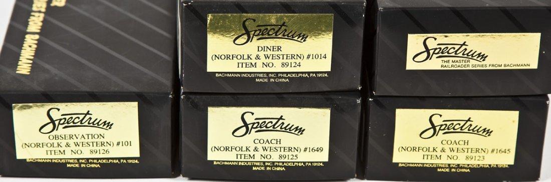 5 Bachmann Spectrum N&W Passenger Cars - 3