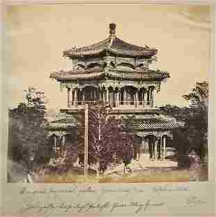 Felice Beato Second Opium War Photograph Album