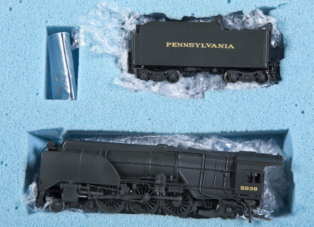 NJ Custom PRR K-4s #5038 Brass Loco & Tender