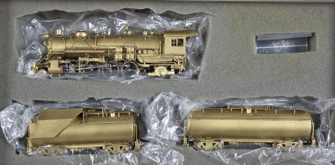 Westside/Samhongsa B&O Mikado Brass Loco & Tenders