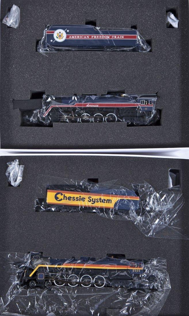 2 Precision Craft Reading P1 Locomotives