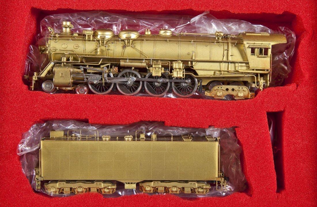 Key Imports/Samhongsa CN Brass Loco & Tender