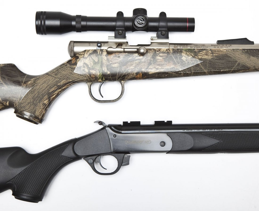 2 Traditions Inline Muzzleloaders -  50 Cal