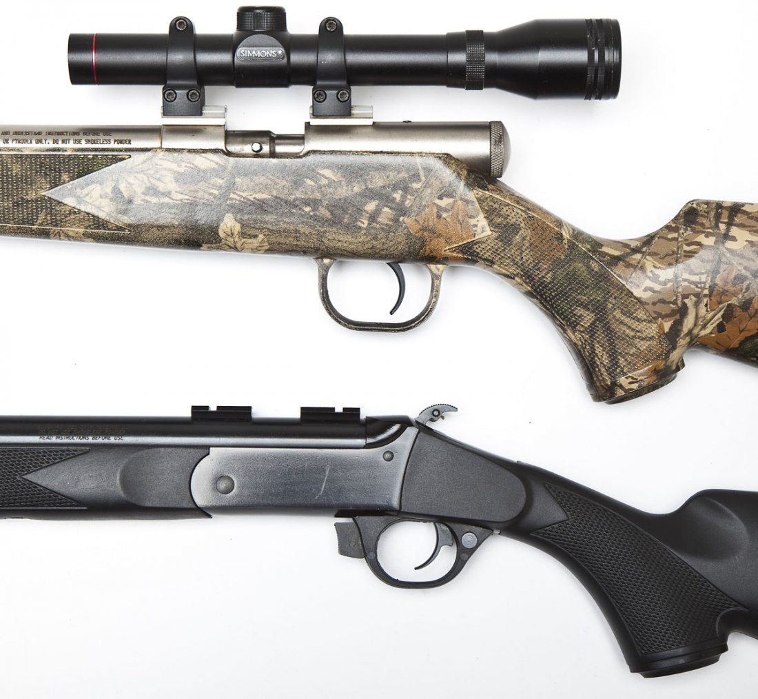 2 Traditions Inline Muzzleloaders - .50 Cal. - 2
