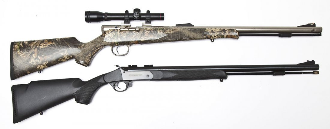 2 Traditions Inline Muzzleloaders - .50 Cal. - 3