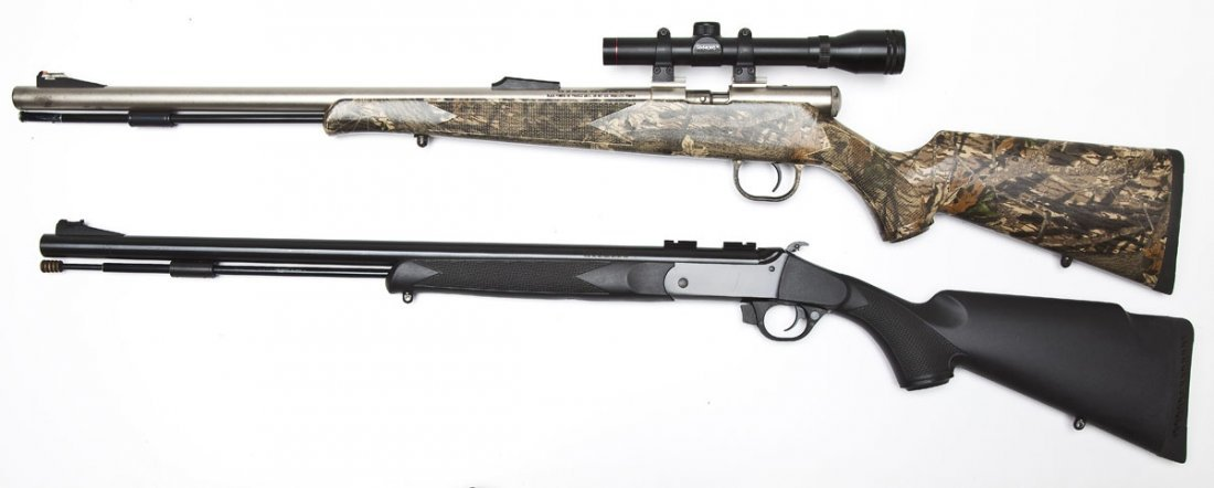 2 Traditions Inline Muzzleloaders - .50 Cal. - 4