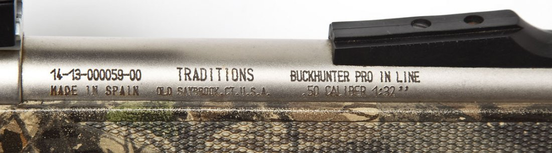 2 Traditions Inline Muzzleloaders - .50 Cal. - 5